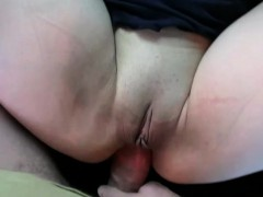 Plump amateur anal fucks in...