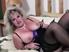 Thick Mature Slut In Black...